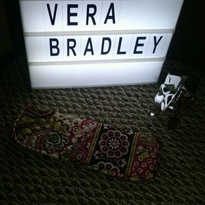 Vera Bradley hair straightener case